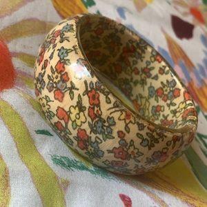 Flower chunky bracelet